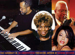 Nat Adderley, Jr., Lil Greenwood, Theodore Arthur, Jr., Sandra Booker